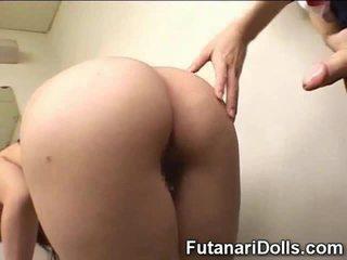 日本, futanari, 毛茸茸