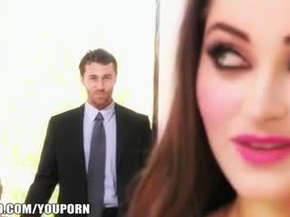 fun brunette fuck, beauty porn, more striptease thumbnail