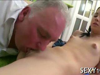 Σκληρό πορνό drilling από δάσκαλος