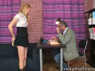 Asian SchoolGirl Oksana Fucked By Old Teacher