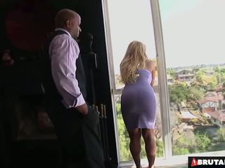 BrutalClips Big boobed Tyla uses her