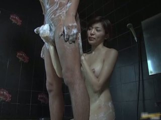 Stroking Cocks With Foot