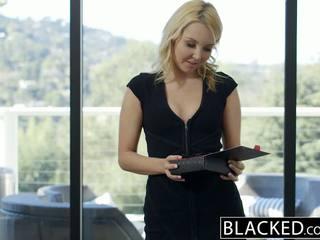 Blacked sievä blondi hotwife aaliyah rakkaus ja hänen musta lover