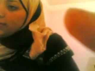 arab, amatør, par