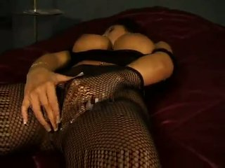 big tits, fishnet, pantyhose