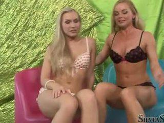 Sylvia saint et chaud playgirl taking de leur undies