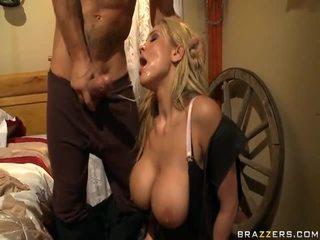 Alanah rae appreciates the kowboý gyz on the rod