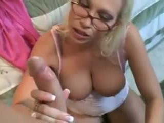 Hot Blonde Mom Them Fucking Stepson and Dad: Free Porn 91