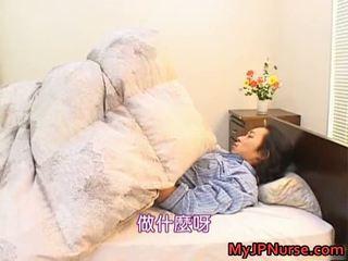 Bunko kanazawa erotic asiatic asistenta teaches