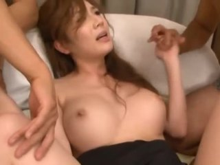 Slave girl sucks big rods