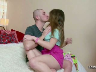 18yr Old Small Teen Andrea get Her First Fuck by Big.