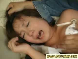 टाइट bodied एशियन maids gets पनिश्ड