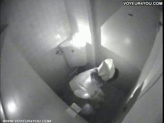 Masturbation 生活 厕所 室