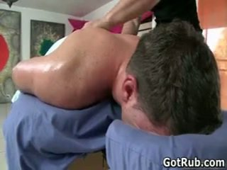 Mate Gets His Ass Oiled Up And Fucked ...