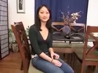 Chińskie dziewczyna evelyn lin pierwszy czas anal