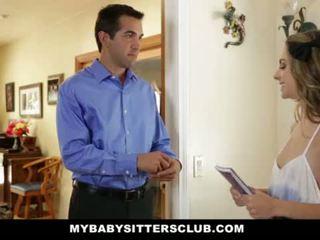 Mybabysittersclub - lastenhoitaja saattaja perseestä sitten hired <span class=duration>- 10 min</span>