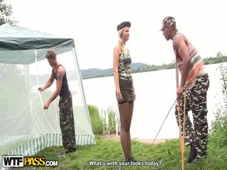 Hot Hard Core Have Laid Inside The Army