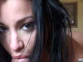 Abella anderson amateur tiener latina met groot bips blowjobs en rijden reusachtig lul