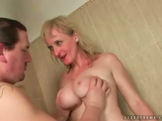 Two guys fucking and pissing on nasty ...