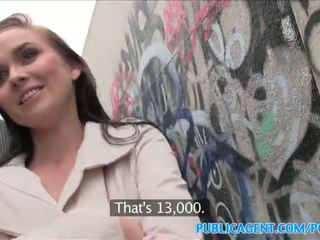 Publicagent heiß mieze fucks stranger im alleyway - porno video 961