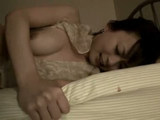 Japanese milf warmed up for some hardcore action