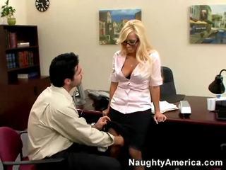 hardcore sex, svež blondinke, vroče office sex