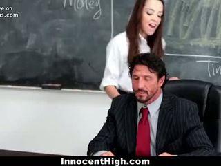 InnocentHigh School Girl Desperate For Teacher's Cock