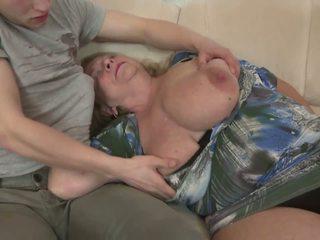 बड़े स्तन, grannies, परिपक्व