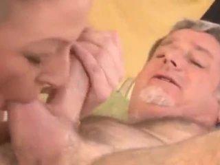 deepthroat, oralinis, tėtis