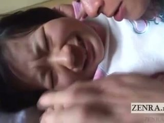 ประเทศญี่ปุ่น เด็กนักเรียนหญิง licked ทั้งหมด ทั่ว english subtitles