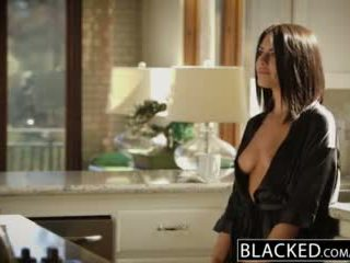 Blacked morena adriana chechik takes trio de bbcs