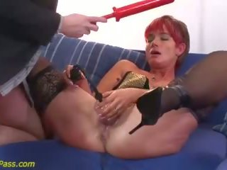 Mame ekstremno analno in pumping lesson