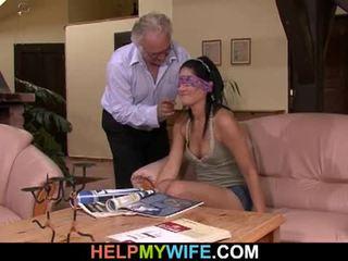 Vicious σύζυγος gets πατήσαμε σε εμπρός του αυτήν σύζυγος