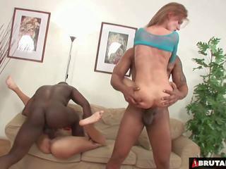 Brutalclips - monstre cocks rip les deux son holes: hd porno bc
