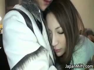 Anri suzuki جميل اليابانية فتاة enjoys part4