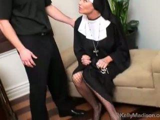 Kelly madison straffet med en thick kuk i fitte