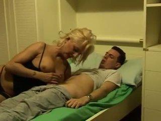 Whore hot aunt seduces nephew
