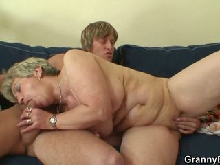He Slams Lonely 60 Years Old Granny, Free Porn 01