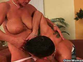 old action, nice gilf fucking, real older