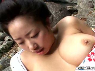 Seksi geisha kotone yamashita becerdin zor