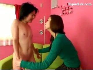 lesbiana, coreano, asiático