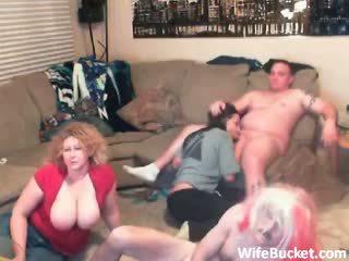 gruppen-sex, reifen, amateur
