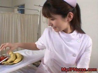 Ann nanba lovely asiatisk babe licks