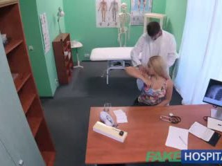 Fakehospital Buxom Russian Babe Swallows Cumload After Hard Fucking Video
