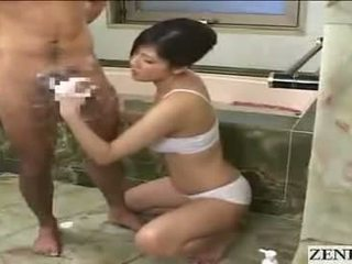 Japonská maminka gets obličejový