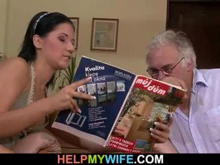 Hubby calls en guy til faen hans kone