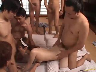japonais, pipe, oriental