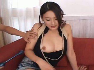 Risa aianlovely الآسيوية دمية gets كس teased