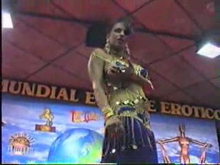 Arab stripers during a live performance Video