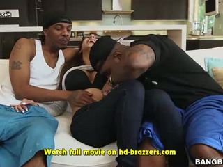 Mia Khalifas First Monster Cock Threesome Part 2